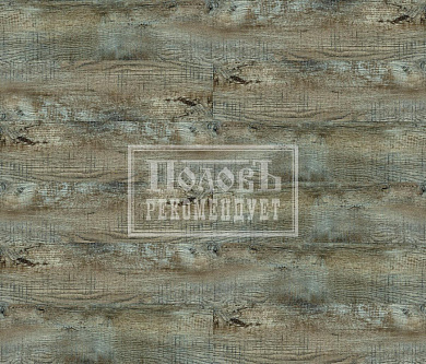 Кварц винил FineFloor Wood FF-1518 Дуб Этна
